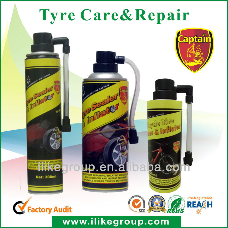 Captain fix a flat,fix a leak , 300ml 400ml 650ml