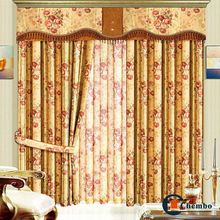 wholesale ready made pull down curtain for living room curtain