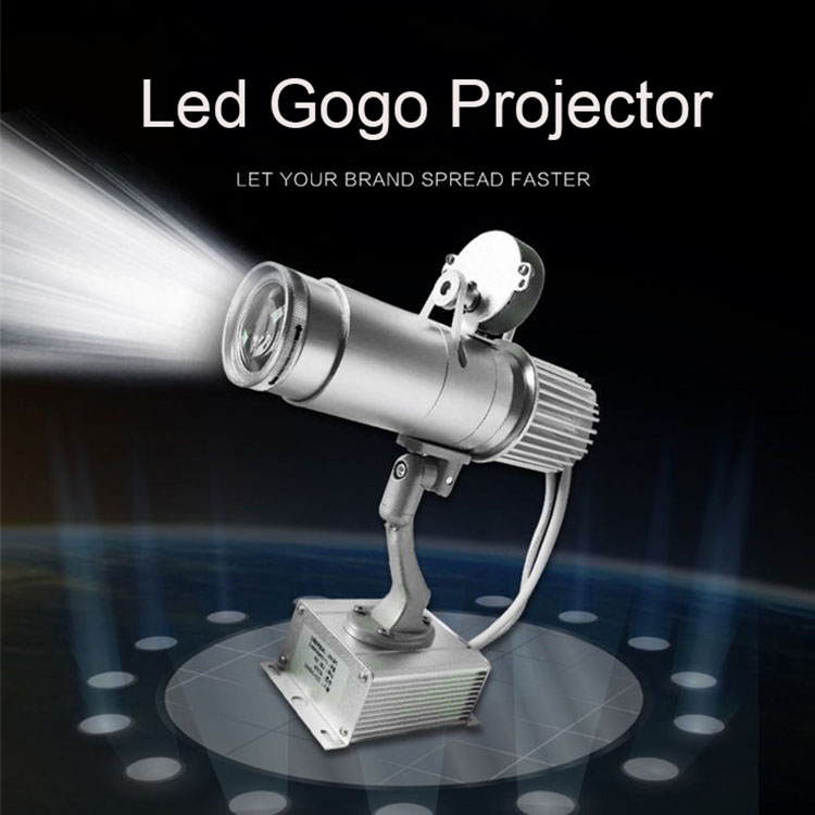 30W 50W Customize Whirling Led gobo projector