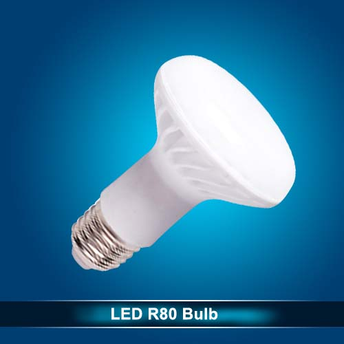 R80 LED Bulb E27 12W Aluminum Isolated driver