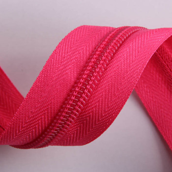 euro prices best selling 3#5# nylon coil zipper for bags and garment accessorie