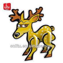 7037/SHANTOU DIY 3D PUZZLE/ PROMOTION CANDY TOYS/ DIY ANIMAL COLLECTION/5X4CMX2SHEETS CARTOON