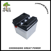 6N4 4Ah Electric Motorcycle Battery Pack