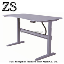 Foldable electric integrate height adjustable standing desk