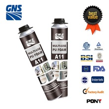 PU Foam spray on insulation polyurethane adhesive