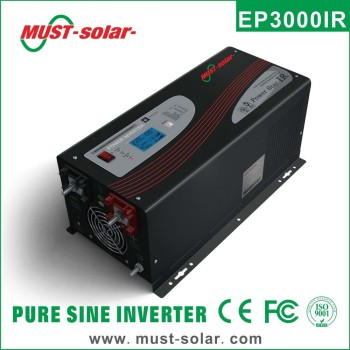 <Must solar>HOT !! EP3000 Series power inverter dc to ac1000w 2000w 3000w 4000w 5000w 6000w Hybrid solar pure sine wave inverter
