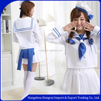 2016 Newest design uniform /sexy cosplay costume school uniform/sexy waitress uniform