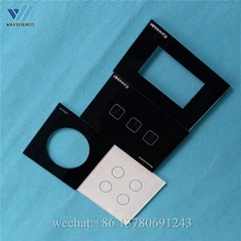 tempered intelligent wall switch glass panel 86*86*3mm standard