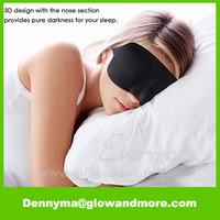 Sleep Blindfold for Sleeping Travel Contoured Design 3D Eye Mask