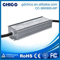 CC-36W900-MP New PC plastic input 100-240VAC triac dimmable led driver