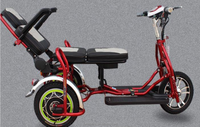 48v 32Ah Electric Tricycle Folding