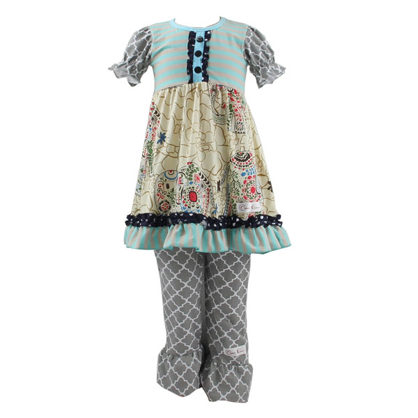 Little girls boutique remake clothing sets 2015 wholesale kids spring remake outfits baby spring and fall outfits clothes set