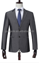 Men Suits For Wedding Blazer Latest Coat With Pant Silver Dark Grey Costume