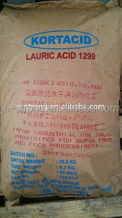 Lauric acid 1299 CAS 143-07-7