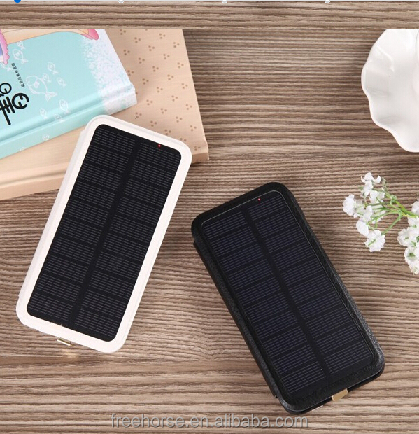 Solar energy power bank for iphone charger case power bank case 3800mah