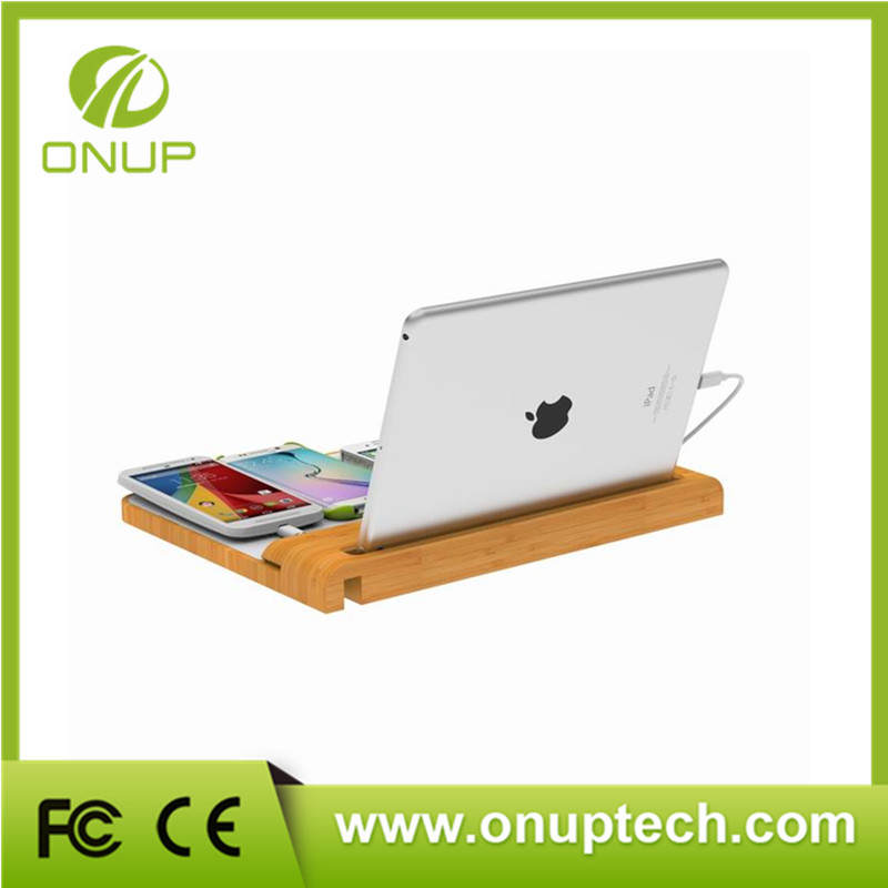Hot Selling wooden charging station with high quality
