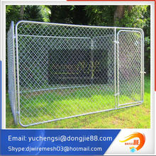 4'x10'x6' Metal Pet Kennels with Awning Cloth, Professional Manufacturer