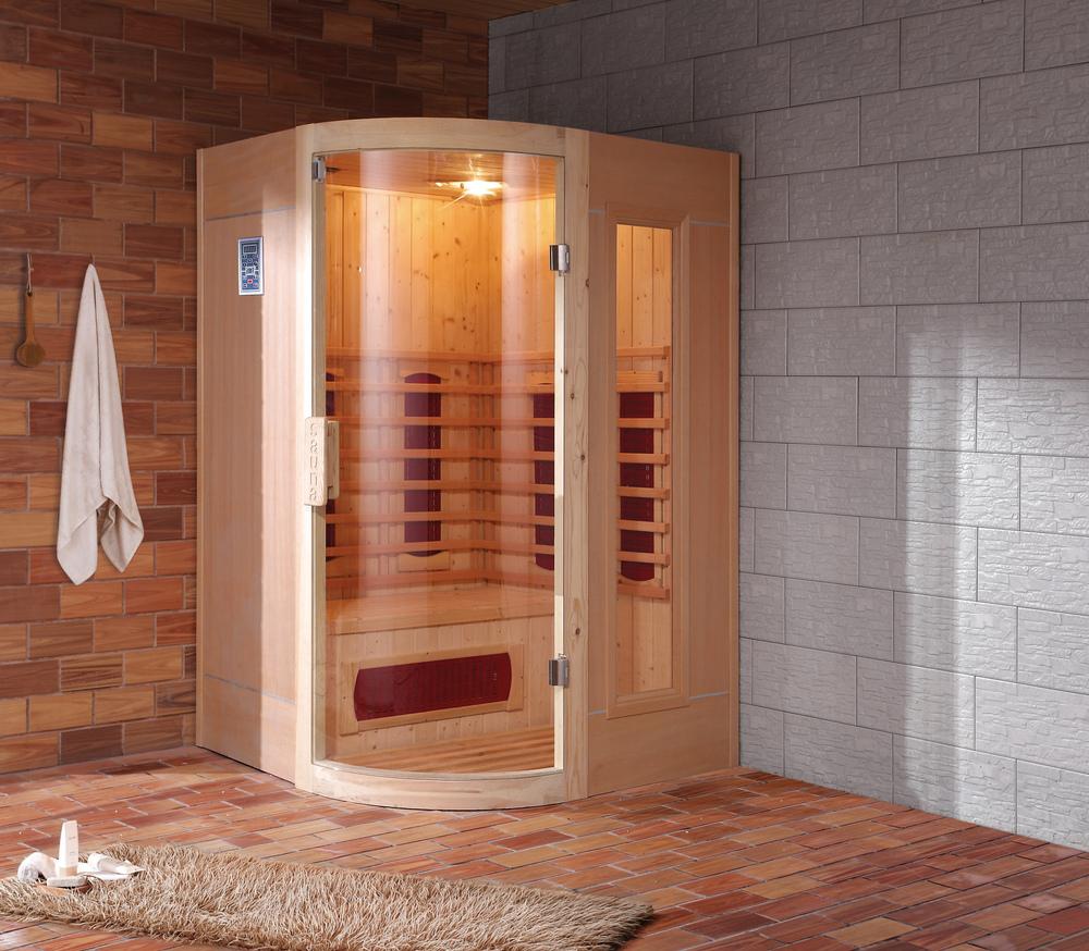 hs sr120hx infared sauna glass infrared room infrared. Black Bedroom Furniture Sets. Home Design Ideas