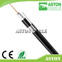 China Coaxial Cable RG11+messenger Cable Kabel 16 Years Factory