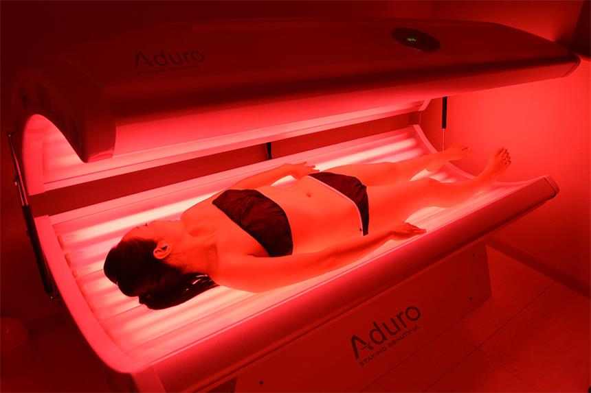 Beauty equipment Red Infrared light therapy led beauty bed