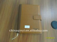 soft PU leather cover business notebook 2012