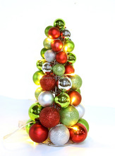 small decorative metal ornament display tree