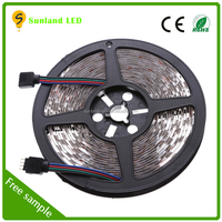 SMD5050 300leds Addressable rgb led strip Ip65 waterproof 5050 12 volt led light strips 3 years warranty