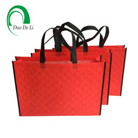 Request free samples non- woven polypropylene tote shopping bag