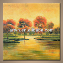 Natural images of landscape oil painting for sale