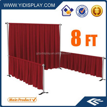 Exhibition stands cheap pipe drape used pipe and drape for sale