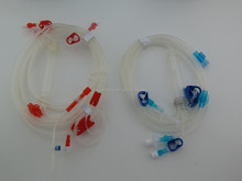 hemodialysis blood tubing line with infusion set
