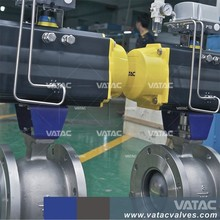 Paper pulp Mill V-Port Segment ball Valve