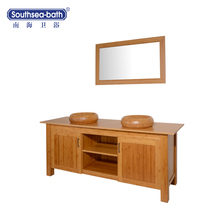 bathroom bamboo vanity cabinet/high quality bathroom vanity/bathroom vanity unit with top