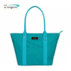durable oxford shopping bag, lesiure OL shopping bag, ladies beach tote bag with long strap