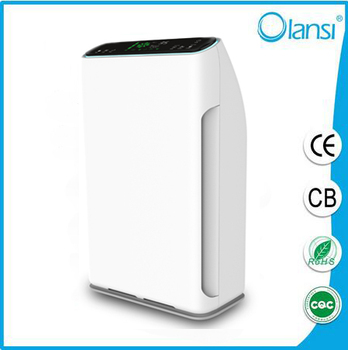 Newest H13 Hepa house air cleaner/air purifier china with activated carbon filter and ionizer