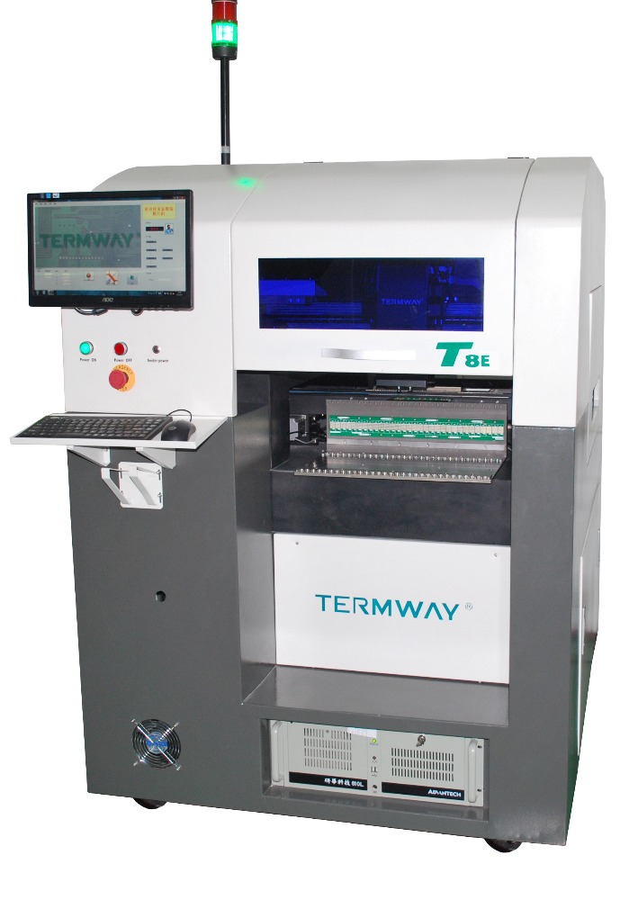 Termway High-precision high speed multi-function automatic SMT/smd Pick and place robot machine and mounter machine Model:T8E