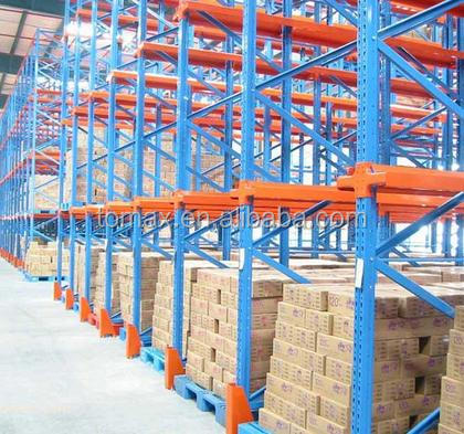 economical medium duty long span shelving 100% manual selective rack