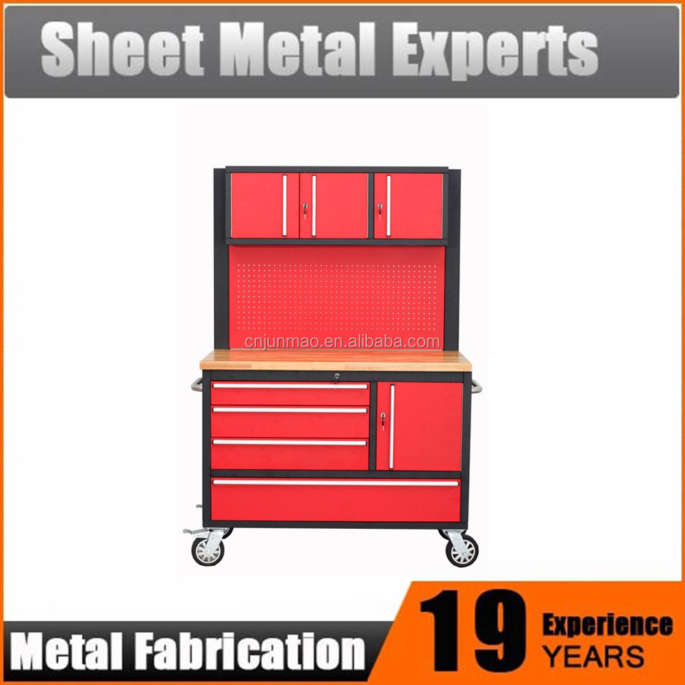 high quality 48 inch tool cabinet tool chest box working bench on wheels