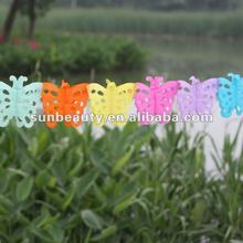new arrival! kids craft ideas butterfly style paper garland 2012