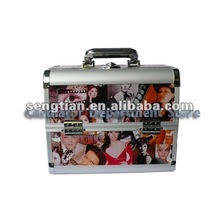 Aluminum beauty case cosmetic makeup case COSMETIC (D2629)
