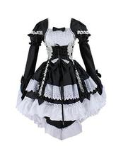 Women Evening Party Dress Cosplay Costume Lolita Gothic Dress