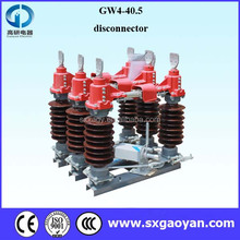GW4-40.5(D) Series Outdoor High Voltage Disconnector isolator switch Manufacturer