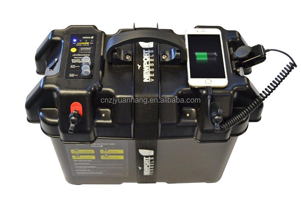 Smart Marine Battery Box Battery Case For Rv,Outdoor,Solar Power - Buy ...