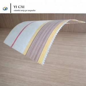 colorful protective strip pe tarpaulin woven tarp for awning cover