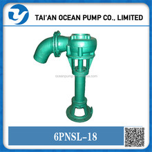 High efficiency slurry pump for pond and bam dredge