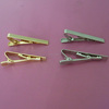 blank gold tie tack, 2 inch tie clips wholesale