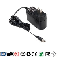 power adapter of 6v 1a, 5v 1a,12v 0.5a, supply Single Output Wall Type AC DC Adaptor with UL, CE, UK, AUS, PSE KC approvals