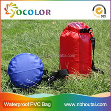 Tarpaulin hot selling Waterproof Dry Bag for Climbing and Hiking