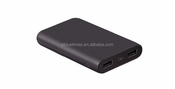 Bluetimes new models private Slim Polymer Power Bank 10000mAh