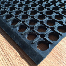 Waterproof Porous Anti-slip Rubber Mat For Kitchen And Workshop Trade Assurance